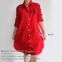 Jual Polo Country Original - Dress Kemeja Lengan Panjang Murah