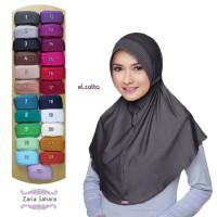 Jual ELZATTA Zaria Sahara Bergo Polos   Jilbab Instan   Kerudung   Hijab Murah