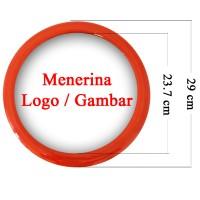 Souvenir Promosi Logo Custom Jam Dinding 29cm