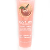 Body Shop Spa Exfoliating Gel - Peach - 11981