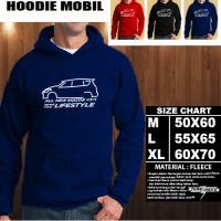 JAKET HOODIE OTOMOTIF MOBIL MAZDA VX-1 SILUET 2 Hoodie/Sweater