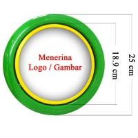 Souvenir Promosi Logo Custom Jam Dinding 25cm