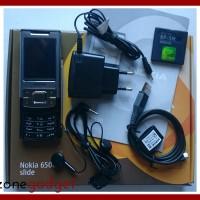 [Promo] Nokia 6500 Slide Silver Steel | Nokia Jadul ORI | HP Jadul Mur