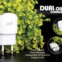 Kepala Charger Jete Fast Charging ( Charger Samsung Xiaomi Asus Sony )