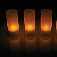Lampu Lilin Elektrik Romantic Magic Candle Lilin Dinner Romantis Moody