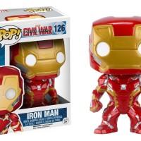 Funko Pop Marvel Civil War Ironman