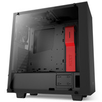 NZXT S340 Elite (Black / Black-Red / White)