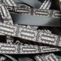 Jual 10Yard Label HANDMADE (grosgrain) Non custum design Murah