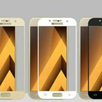 Tempered glass warna Samsung J7 Pro anti gores kaca warna J7Pro J730