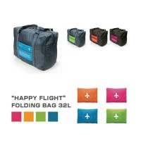 Happy flight folding bag foldable travel bag hand carry tas lipat A377