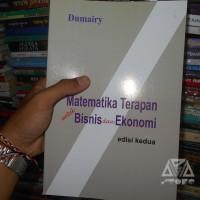 Buku Matematika Terapan untuk Bisnis dan Ekonomi edisi kedua - Dumairy