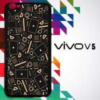Coffee Addict Between Coffe and Apple 0169 Casing for VIVO V5 Hardcase