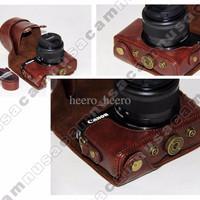 Full, Half, Case, Casing, Cover, Tas Kamera Canon EOS M10, EOSM10 (Cof