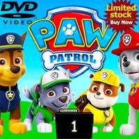 Video Kartun Edukasi Anak Paw Patrol 26 Episode Season 1 DVD Video