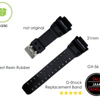 G-Shock Strap GX-56 GXW-56 Tali Jam Tangan G-Shock Karet Murah