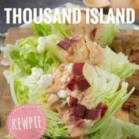 KEWPIE Thousand Island | Salad Dressing PIZZA HUT Salad Buah Sayur