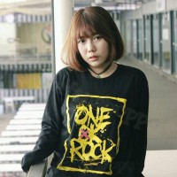 kaos / tshirt longsleeve one ok rock black ambitions