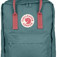 Fjallraven Kanken / Tas Ransel Color Frost Green/Peach Pink