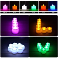 Jual Lilin Elektrik 7 Warna /Colorful LED CANDLE LAMPU/MINI Murah