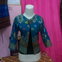 blazer batik prada pekalongan ready ecer dan grosir