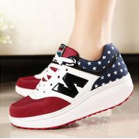 Sepatu Wanita Kets Casual N SDS113 MURAH