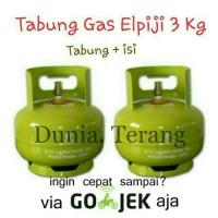 Tabung Gas 3Kg / 3 Kg Baru + Isi (Full) || Khusus Gojek
