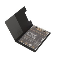 Bantex Clipboard With Cover A4 Black #4240 10
