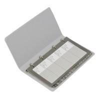 Bantex Telephone & Address Book Grey #5591 05