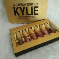 Jual Kylie Birthday Edition Mini Lipkit Matte Liquid Lipstick Murah