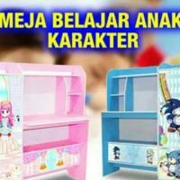 MEJA BELAJAR ANAK KARAKTER / Free Shipping Jabodetabek