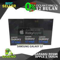Garansi 1 Tahun Samsung Galaxy S7 EDGE 32GB BLACK DUOS DUAL SIM