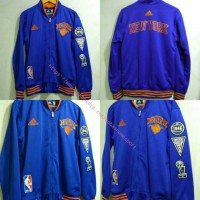 Jaket Basket New York Knicks Biru