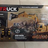 mainan anak Rc remote control beko digger alat berat