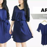 Dress (M - Fit L) ARYA - Katun Rayon