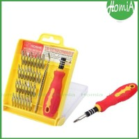 NEW ! Obeng Set Toolkit 32in1 Lengkap Dengan Pinset / 32 In 1 OBRAL