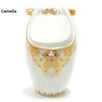 Spoon STand (Tempat Sendok Garpu) B625 VICENZA motif Camelia, Garansi