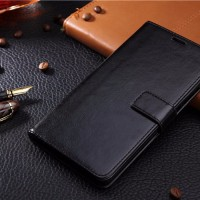Flip Cover KULIT iPhone 6 6s / Plus Leather Case Soft Casing Dompet HP