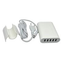 5 Ports USB Charger Travel Adapter 40W 8A (EU Plug)