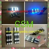 Lampu LED T10 18led Motor Mobil Lampu Senja 10T 18 Led Serbaguna