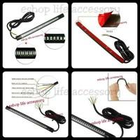 Lampu Drl + Sen Led Flexible Motor Mobil U / Box / Behel / Plat Nomor / Spakb S