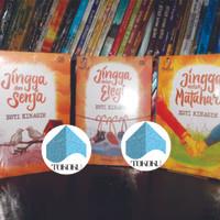 Paket 3 Novel Teenlit jingga dan senja, dalam elegi, untuk matahari