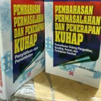 Buku Pembahasan Permasalahan Dan Penerapan Kuhap