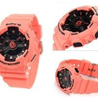 Casio Baby-G Women's PINK Resin Strap Watch BA-111-4A2