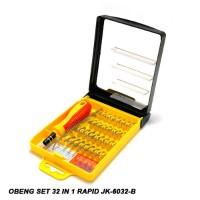 Obeng Set Mini 32 In 1 Rapid JK-6032-B