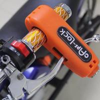 TRAND Griplock CAPSLOCK Kunci Gembok Pengaman Anti Maling Stang Motor