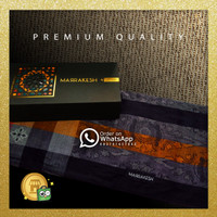 Jual Kain Sarung Premium Export Quality Gajah Duduk Motif Songket BL1 Murah