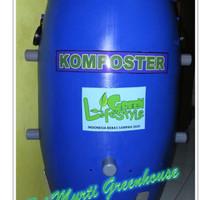 Jual Tong Komposter Penghasil Pupuk Cair Organik dan Kompos Murah