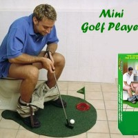 Mini Golf Player mat alas main kid toys