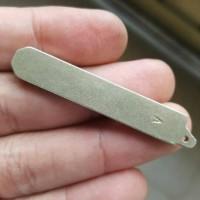 Tembaga flip key 47 mm (honda mobilio 2017 dan brv)