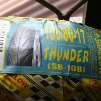 ban luar swallow tubeles 100/80-17 Thunder